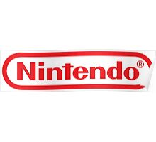 Retro NES Nintendo Logo Poster