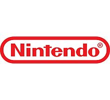 Retro NES Nintendo Logo Photographic Print