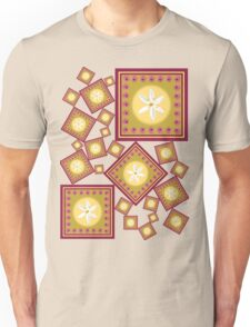 White Wildflower Unisex T-Shirt