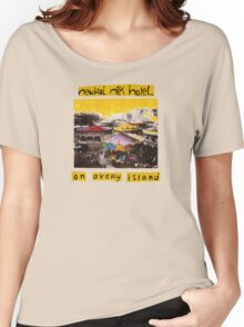 Neutral Milk Hotel - On Avery Island Women's Relaxed Fit T-Shirt