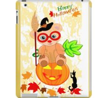 Halloween Teddy with glasses (4922 Views ) iPad Case/Skin