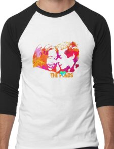 The Ponds, Amy and Rory  Men's Baseball ¾ T-Shirt