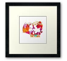 The Ponds, Amy and Rory  Framed Print
