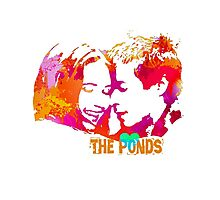The Ponds, Amy and Rory  Photographic Print