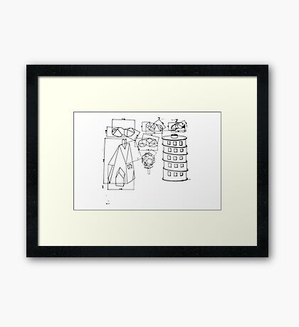 Modest Mouse - Building Nothing Out of Something  Framed Print