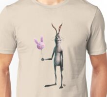 Rabbit & Balloon Unisex T-Shirt