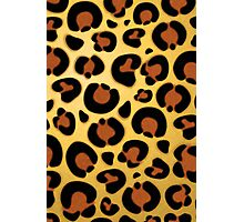 Jaguar Fur Pattern Photographic Print