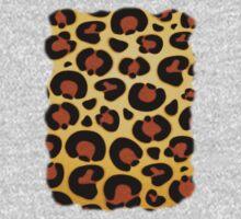 Jaguar Fur Pattern Kids Tee