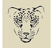 cheetah pencil portrait  Photographic Print