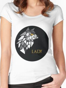 Direwolf - Lady Women's Fitted Scoop T-Shirt