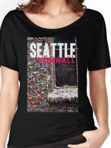 Seattle Gum Wall Women's Relaxed Fit T-Shirt