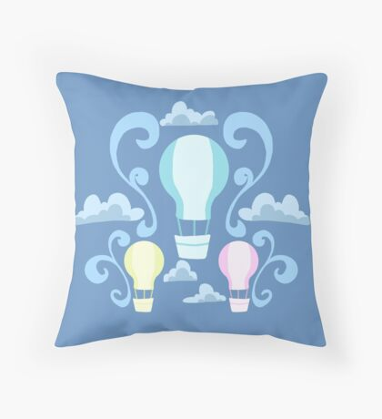 Up, Up and Away Throw Pillow