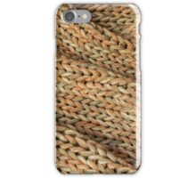 Knitted texture. Background. iPhone Case/Skin