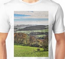 The Volcanic Hills of the Hegau - Lake Constance Area Unisex T-Shirt
