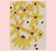 Yellow daisies One Piece - Long Sleeve