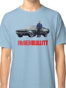 STEVE MCQUEEN BULLITT 1968 FORD MUSTANG Classic T-Shirt