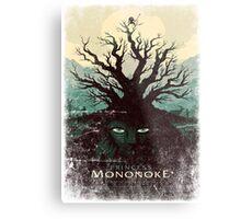 Mononoke Princess Metal Print