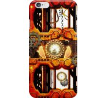 Steampunk, mechanical design iPhone Case/Skin