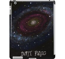 The Hitchhiker's Guide to the Galaxy Tshirt , Don't Panic iPad Case/Skin