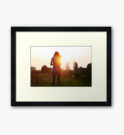 I think I'll start a new life Framed Print