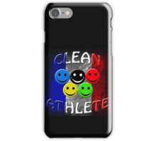 clean athlete France iPhone Case/Skin