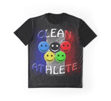 clean athlete France Graphic T-Shirt