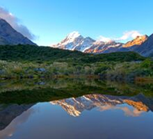 Mount Cook Reflection Sticker