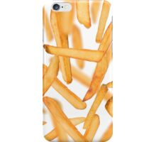 French fries chips in freeze motion iPhone Case/Skin