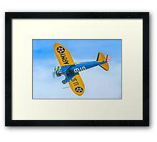 Boeing P-26A 33-123 N3378G Framed Print