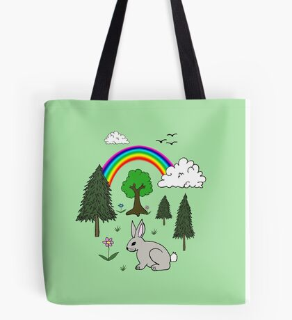 Nature Scene Tote Bag