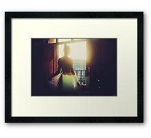 Flares Framed Print