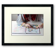 Distance Framed Print