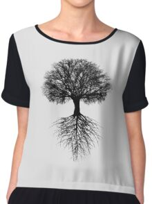 Tree of Life Chiffon Top