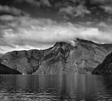 Clouds over the Sound 2 by Jan Pudney