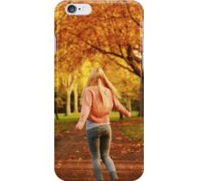 You got me on my toes iPhone Case/Skin
