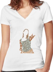 Under your spell Women's Fitted V-Neck T-Shirt
