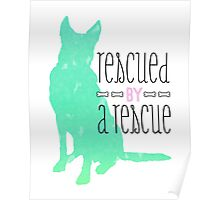 rescued by a rescue Poster