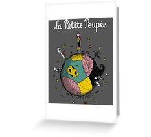 La Petite Poupée Greeting Card