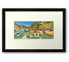 East Khasi Hills Framed Print