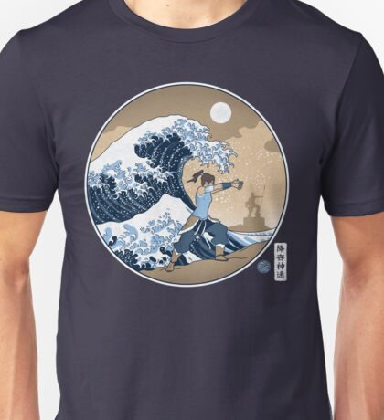 Avatar Waterbender Great Wave Unisex T-Shirt