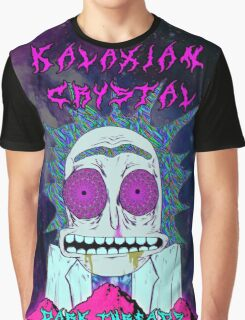 Rick Sanchez Kalaxian Crystal Graphic T-Shirt