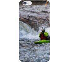 kayaking in the lakes iPhone Case/Skin