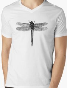 Dragonfly Mens V-Neck T-Shirt