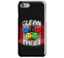 clean athlete , Canada iPhone Case/Skin