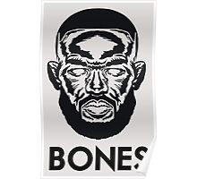 """Jon """"Bones"""" Jones Poster"""