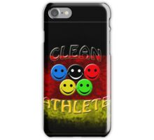 clean athlete Germany iPhone Case/Skin