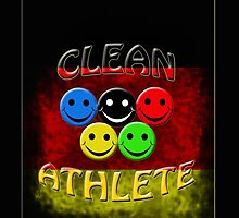 clean athlete Germany by gruntpig
