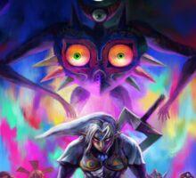 Zelda majoras mask Sticker
