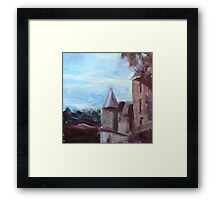 French Chateau I Framed Print