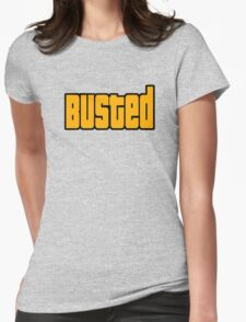 Grand Theft Auto Busted Womens Fitted T-Shirt